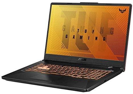 "ASUS TUF Gaming F17 Gaming Laptop, 17.3"" FHD IPS-Type Display, Intel Core i5-10300H, GeForce GTX 1650 Ti, 8GB DDR4, 512GB PCIe SSD, RGB Keyboard, Windows 10, Bonfire Black, FX706LI-RS53 1"