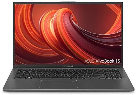 "ASUS VivoBook 15 Thin and Light Laptop- 15.6"" Full HD, Intel i5-1035G1 CPU, 8GB RAM, 512GB SSD, Backlit KeyBoard, Fingerprint, Windows 10- F512JA-AS54, Slate Gray 1"