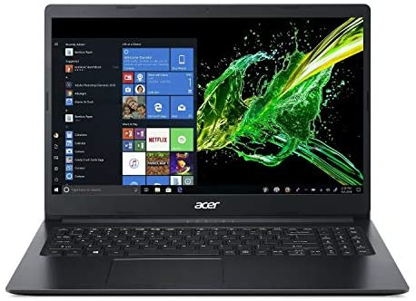 "Acer Aspire 1 15.6"" Laptop computer Intel Celeron N4000 1.1GHz 4GB Ram 64GB Flash Win10HS (Renewed) 1"