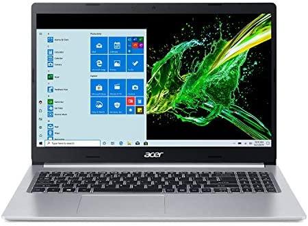 "Acer Aspire 5 A515-55-378V, 15.6"" Full HD Display, 10th Gen Intel Core i3-1005G1 Processor (Up to 3.4GHz), 4GB DDR4, 128GB NVMe SSD, WiFi 6, HD Webcam, Backlit Keyboard, Windows 10 in S Mode 1"