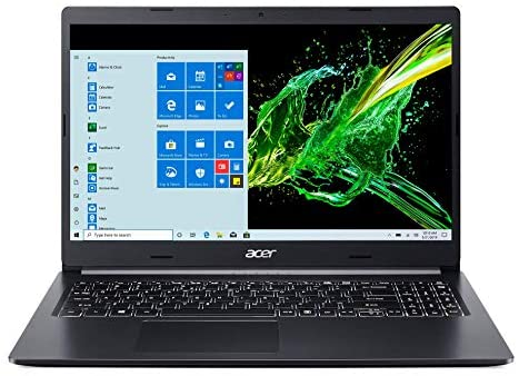 "Acer Aspire 5 A515-55-56VK, 15.6"" Full HD IPS Display, 10th Gen Intel Core i5-1035G1, 8GB DDR4, 256GB NVMe SSD, Intel Wireless WiFi 6 AX201, Fingerprint Reader, Backlit Keyboard, Windows 10 Home 1"