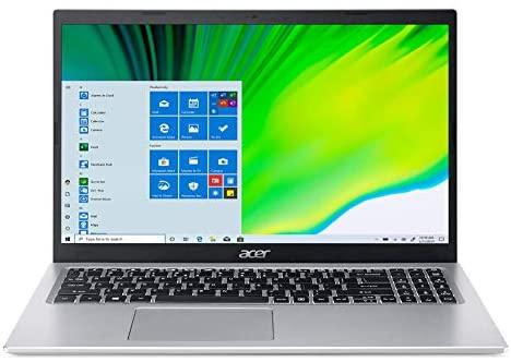 "Acer Aspire 5 A515-56-363A, 15.6"" Full HD IPS Display, 11th Gen Intel Core i3-1115G4 Processor, 4GB DDR4, 128GB NVMe SSD, WiFi 6, Backlit Keyboard, Windows 10 Home (S Mode) 1"