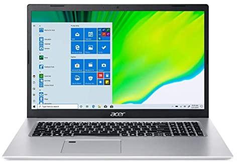 "Acer Aspire 5 A517-52-59SV, 17.3"" Full HD IPS Display, 11th Gen Intel Core i5-1135G7, Intel Iris Xe Graphics, 8GB DDR4, 512GB NVMe SSD, WiFi 6, Fingerprint Reader, Backlit Keyboard 1"