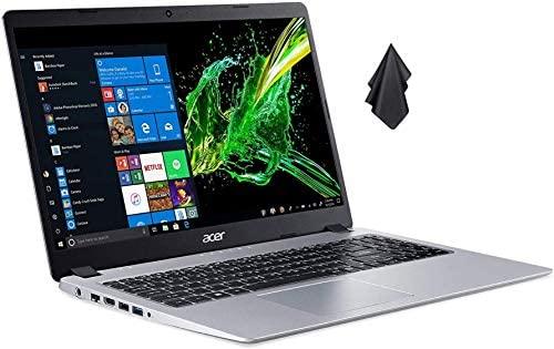 Acer Aspire 5 Slim Laptop Computer(2021 Newest), 15.6 inches Full HD IPS Display, AMD Ryzen 3 3200U, Vega 3 Graphics, 8GB DDR4 RAM, 500GB HDD, Backlit Keyboard, Windows 10 + Oydisen Cloth 1