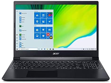 "Acer Aspire 7 Laptop, 15.6"" Full HD IPS Display, AMD Ryzen 5 3550H, NVIDIA GeForce GTX 1650, 8GB DDR4, 512GB NVMe SSD, Backlit Keyboard, Windows 10 Home, A715-41G-R7X4 1"