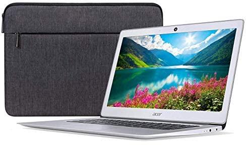 Acer Chromebook 14 CB3-431-12K1 Intel x5 E8000 Quad Core 4GB RAM 32GB 14-inch HD LED Laptop Bundle (Renewed) 1