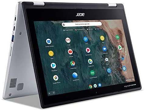"Acer Chromebook Spin 311 Convertible Laptop, Intel Celeron N4020, 11.6"" HD Touch, 4GB LPDDR4, 32GB eMMC, Gigabit Wi-Fi 5, Bluetooth 5.0, Google Chrome, CP311-2H-C679 1"