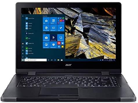 "Acer Enduro N3 EN314-51W-53RR Rugged Laptop, 14"" Full HD IPS, 10th Gen Intel Core i5-10210U, 8GB DDR4, 256GB NVMe SSD, Intel Wireless Wi-Fi 6, Fingerprint Reader, Windows 10 Professional 1"