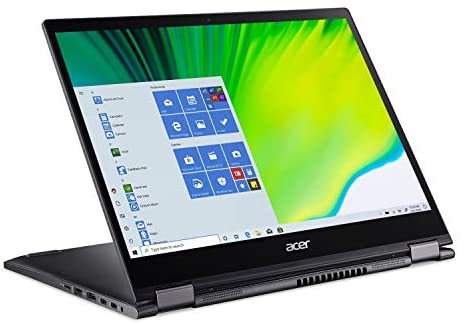 """Acer Spin 5 Convertible Laptop, 13.5"""" 2K 2256 x 1504 IPS Touch, 10th Gen Intel Core i7-1065G7, 16GB LPDDR4X, 512GB NVMe SSD, Wi-Fi 6, Backlit KB, FPR, Rechargeable Active Stylus, SP513-54N-74V2 1"""