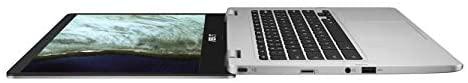 "Asus Chromebook C423NA, 14"" HD Nano-Edge Display, Intel Processor N3350, 4GB DDR4, 64GB eMMC, Chrome OS 1"