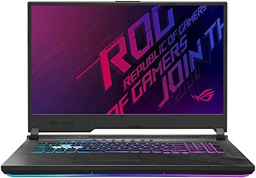 """CUK ROG Strix G17 G712LW by ASUS 17 Inch Gamer Notebook (Intel Core i7-10750H, 64GB RAM, 2TB NVMe SSD, NVIDIA GeForce RTX 2070 8GB, 17.3"""" FHD 144Hz 3ms, Windows 10 Home) Gaming Laptop Computer 1"""