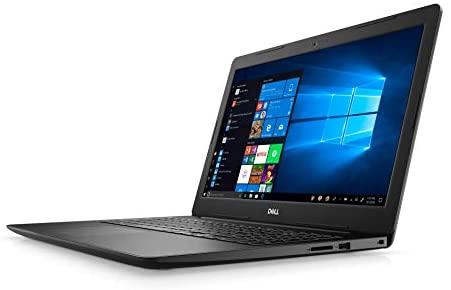 "Dell Inspiron 3000 Series 15.6"" HD Notebook - Intel Celeron 4205U 1.8GHz - 4GB RAM 128GB PCIe SSD - Webcam - Windows 10 Home in S Mode, Black 1"