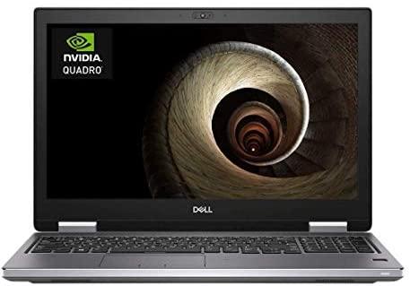 "Dell Precision 7540 15.6"" IPS FHD (1920x1080) Mobile Workstation Business Laptop (Intel 6-Core i7-9850H, Quadro T2000, 32GB DDR4, 1TB SSD) Thunderbolt 3, Mini-DP, RJ-45, Windows 10 Pro 1"