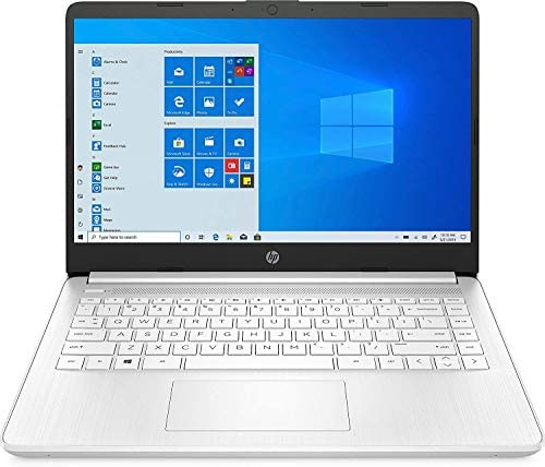 """HP 14-fq0032ms Laptop for Business and Student, 14"""" LED Touchscreen, AMD Ryzen 3 3250U Processor(up to 3.5 GHz), 8GB RAM, 128GB SSD, Webcam, WiFi, Ethernet, HDMI, USB-A&C, Win10 1"""