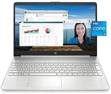 "HP 15 Laptop, 11th Gen Intel Core i5-1135G7 Processor, 8 GB RAM, 256 GB SSD Storage, 15.6"" Full HD IPS Display, Windows 10 Home, HP Fast Charge, Lightweight Design (15-dy2021nr, 2020) 1"