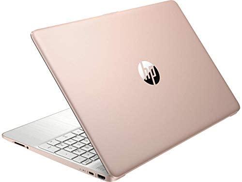 HP 15.6inch HD Laptop, AMD Quad-Core Ryzen 5 3500U Processor Up to 3.70GHz, 8GB DDR4 RAM, 256GB NVMe M.2 SSD, AMD Radeon Vega 8 Graphics, Win10 OS-(Renewed) (Rose Pink) 1