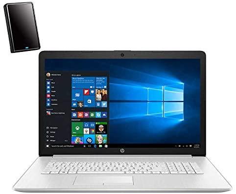"HP 17 17.3"" HD+ Touchscreen Laptop Computer, Hexa-Core AMD Ryzen 5 4500U up to 4.0GHz (Beats i5-1035G1), 12GB DDR4 RAM, 1TB HDD, DVDRW, Backlit Keyboard, Windows 10, iPuzzle 500GB External Hard Drive 1"