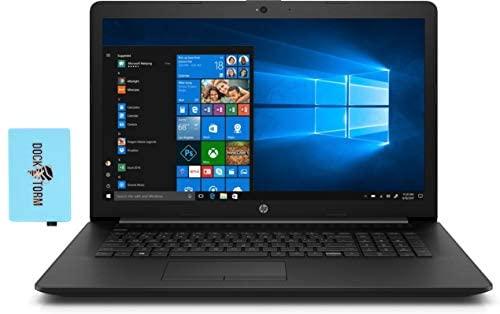 "HP 17-by i3 Residence and Enterprise Laptop computer (Intel i3-1005G1 2-Core, 8GB RAM, 1TB HDD, Intel UHD, 17.3"" HD+ (1600x900), WiFi, Bluetooth, Webcam, 2xUSB 3.1, 1xHDMI, Backlit Keyboard, Win 10 Residence) with Hub 1"