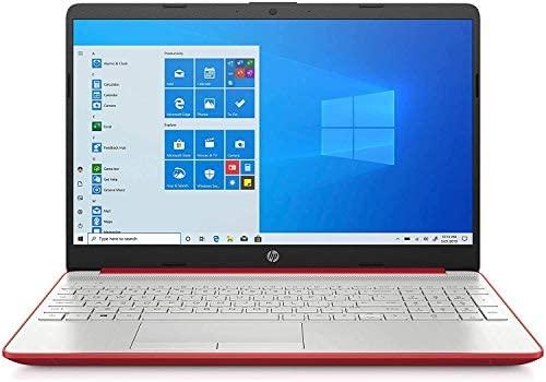 HP 2020 15.6 inches HD LED Display, Intel Pentium Gold 6405U, 4GB DDR4 RAM 500GB HDD, Windows 10 - Scarlet Red (Renewed) 1