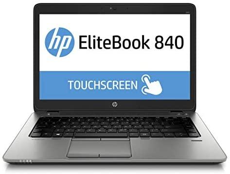 "HP EliteBook 840 G3 Enterprise Laptop computer, 14"" Anti-Glare FHD (1920x1080) Contact Display screen, Intel Core i5-6200U, 8GB DDR4, 240GB SSD, Webcam, Fingerprint Reader, Home windows 10 Professional (Renewed) 1"