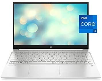 HP Pavilion 15 Laptop, 11th Gen Intel Core i7-1165G7 Processor, 16 GB RAM, 512 GB SSD Storage, Full HD IPS Micro-Edge Display, Windows 10 Pro, Compact Design, Long Battery Life (15-eg0021nr, 2020) 1
