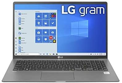 LG gram Laptop 15.6Inch IPS Touchscreen, Intel 10th Gen Core i71065G7 CPU, 8GB RAM, 256GB M.2 NVMe SSD, 17 Hours Battery, Thunderbolt 3 15Z90NR.AAS7U1 2020 1