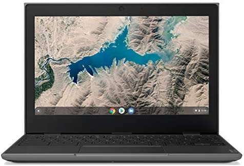 "Lenovo 100E Chromebook 2ND Gen Laptop, 11.6"" HD (1366 X 768) Display, MediaTek MT8173C Processor, 4GB LPDDR3 RAM, 16GB eMMC TLC SSD, Powervr GX6250, Chrome OS, 81QB000AUS, Black 1"