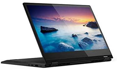 Lenovo Flex 14 2-in-1 Convertible Laptop, 14-Inch HD (1366 X 768) Touchscreen Display, Intel Pentium Gold 5405U, 4GB DDR4 RAM, 128GB NVMe SSD, Windows 10, 81SQ000EUS, Onyx Black (Renewed) 1