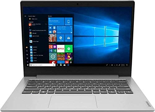 "Lenovo IdeaPad 1 14"" Laptop Computer for Business Student, AMD A6-9220e up to 2.4GHz, 4GB DDR4 RAM, 64GB eMMC, 802.11AC WiFi, Bluetooth 4.2, Webcam, Grey, Windows 10 S Mode, BROAGE 16GB Flash Drive 1"