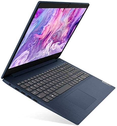 """Lenovo IdeaPad 3 15.6"""" FHD Anti-Glare LED Backlit Laptop, AMD 6-Core Ryzen 5 4500U up to 4.0GHz, 8GB DDR4, 1TB HDD, Webcam, 802.11ac, Bluetooth, HDMI, USB Type-C, Dolby Audio, Windows 10, Abyss Blue 1"""