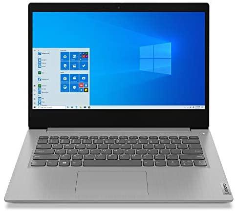 "Lenovo IdeaPad 3 Laptop 10th Gen i5-1035G1, 14"" HD 1080p, 8GB DDR4, 512GB SSD Win 10 Home- Platinum Grey 1"