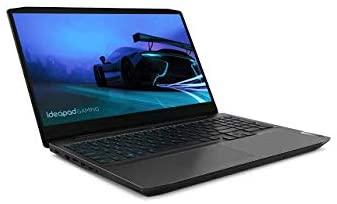 "Lenovo IdeaPad Gaming 3 15.6"" Gaming Laptop 120Hz i5-10300H 8GB RAM 256GB SSD GTX 1650 4GB Onyx Black - 10th Gen i5-10300H Quad-Core - NVIDIA GeForce GTX 1650 4GB GDDR6 - 120Hz Refresh Rate - in- 1"