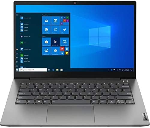 "Lenovo ThinkBook 14 G2 are 14"" Touchscreen Notebook, AMD Ryzen 7 4700U, 16GB RAM, 512GB SSD, AMD Radeon Graphics, Full HD 1920 x 1080, Windows 10 Pro, Mineral Gray (20VF0032US) 1"