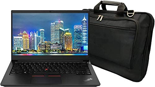 Lenovo ThinkPad E14 Gen 2-are 20T6002LUS 14 inch Notebook PC Bundle with Ryzen 5 4500U, 8GB DDR4, 256GB SSD, Radeon Graphics, Webcam, Stereo Speakers, Microphone, Windows 10 Pro, and Laptop Bag 1