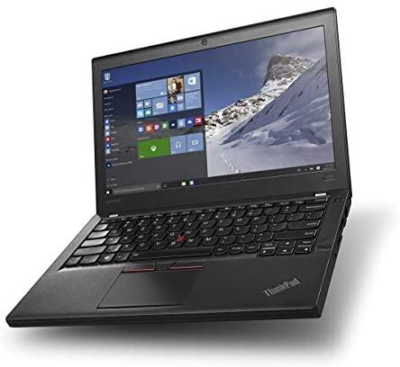 Lenovo ThinkPad X260 Business Laptop, 12.5 inches IPS Display / Intel Core i5-6300U 2.4Ghz (up to 3.00 GHz) / 256GB SSD / 16GB DDR4 / Windows 10 Pro / WiFi / Bluetooth (Renewed) 1