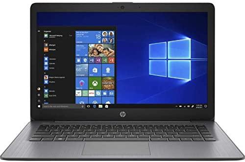 "Newest HP Stream 14"" HD Laptop, Intel Celeron N4000 Processor Up to 2.60GHz, 4GB RAM, 64GB eMMC, HDMI, WiFi, Webcam, Bluetooth, Win10 S(Renewed) (14""/ 64GB) 1"