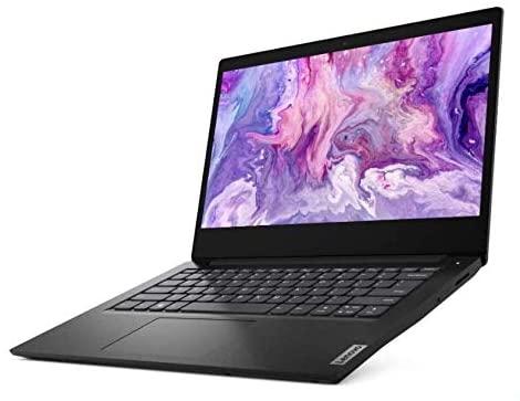 Newest Lenovo 14inch Laptop, Intel Pentium Gold 6405U Dual Core 2.4GHz Processor, 4GB RAM, 128GB SSD, Intel UHD Graphics, WiFi, Bluetooth, HDMI, Windows 10 (Renewed) (Black) 1