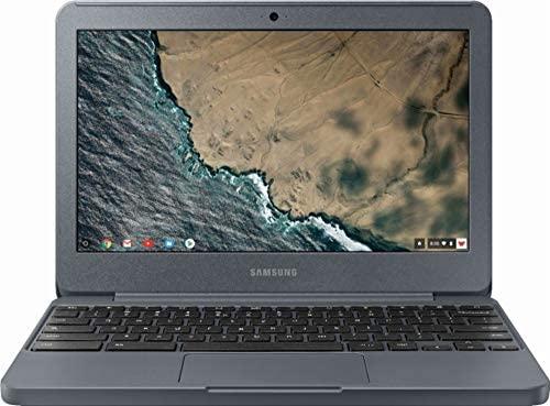 "Samsung Chromebook 3 XE501C13-K01US, Intel Dual-Core Celeron N3060, 11.6"" HD, 2GB DDR3, 16GB eMMC, Night Charcoal 1"
