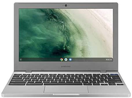 Samsung Chromebook 4 11.6 Inch Laptop with Webcam| Intel Celeron N4000 up to 2.6 GHz| 4GB LPDDR4 RAM| 32GB eMMC| Bluetooth| Chrome OS + NexiGo 32GB MicroSD Card Bundle 1
