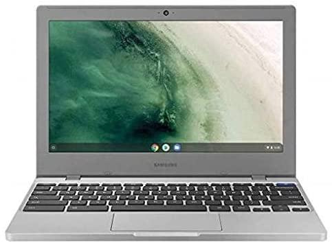 "Samsung Chromebook 4 (2021 Mannequin With out SD Slot) 11.6"" Intel UHD Graphics 600, Intel Celeron Processor N4020, 4GB, 16GB- Wi-Fi - Platinum Titan (XE310XBA-KD1US) 1"