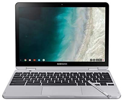 "Samsung Chromebook Plus V2, 2-in-1, 4GB RAM, 32GB eMMC, 13MP Camera, Chrome OS, 12.2"", 16:10 Aspect Ratio, Light Titan (XE520QAB-K01US) 1"