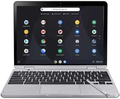 Samsung Chromebook Plus V2 XE520QAB-K03US 12.2-Inch Touchscreen Laptop with Digital Pen - 1920 x 1200-4 GB RAM - 1.5 GHz Intel Celeron 3965y - 64GB eMMC - Chrome OS - Light Titan (Renewed) 1
