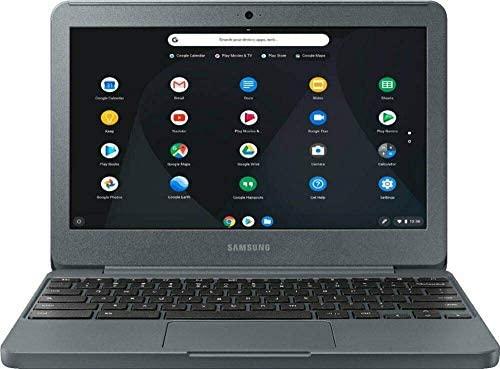 "Samsung Chromebook XE501C13 (XE501C13-S01US) Chromebook, 11.6"" HD Show, Intel Atom x5-E8000 1.04GHz, 2GB RAM, 16GB eMMC, HDMI, Card Reader, Wi-Fi, Bluetooth, Chrome OS (Renewed) 1"