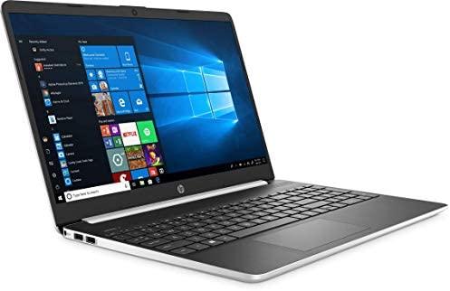 "New HP 15.6"" HD Touchscreen Laptop computer Intel Core i3-1005G1 8GB DDR4 RAM 128GB SSD HDMI Bluetooth 802.11/b/g/n/ac Home windows 10 15-dy1731ms Silver (Renewed) 2"