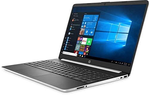 "New HP 15.6"" HD Touchscreen Laptop computer Intel Core i3-1005G1 8GB DDR4 RAM 128GB SSD HDMI Bluetooth 802.11/b/g/n/ac Home windows 10 15-dy1731ms Silver (Renewed) 3"