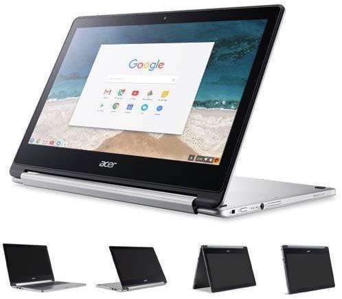 Acer R13 13.3in Convertible 2-in-1 FHD IPS Touchscreen Chromebook - Intel Quad-Core MediaTek MT8173C 2.1GHz, 4GB RAM, 32GB SSD, Bluetooth, HDMI, Chrome OS (Renewed) 7