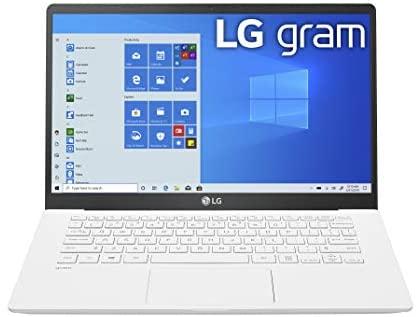 LG Gram Laptop computer 14Inch Full HD IPS Show, Intel tenth Gen Core i51035G7 CPU, 8GB RAM, 256GB M.2 NVMe SSD, Thunderbolt 3, 18.5 Hour Battery Life 14Z90N 2020 14Z90NU.ARW5U1 1
