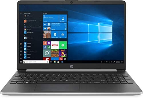 "New HP 15.6"" HD Touchscreen Laptop computer Intel Core i3-1005G1 8GB DDR4 RAM 128GB SSD HDMI Bluetooth 802.11/b/g/n/ac Home windows 10 15-dy1731ms Silver (Renewed) 1"
