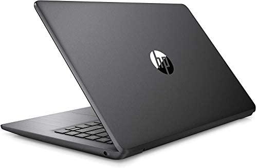 "2021 HP Stream 14"" HD Skinny and Gentle Laptop computer, Intel Celeron N4000 Processor, 4GB RAM, 64GB eMMC, HDMI, Webcam, WiFi, Bluetooth, 1 Yr Workplace 365, Home windows 10 S, Sensible Black, W/ IFT Equipment 1"