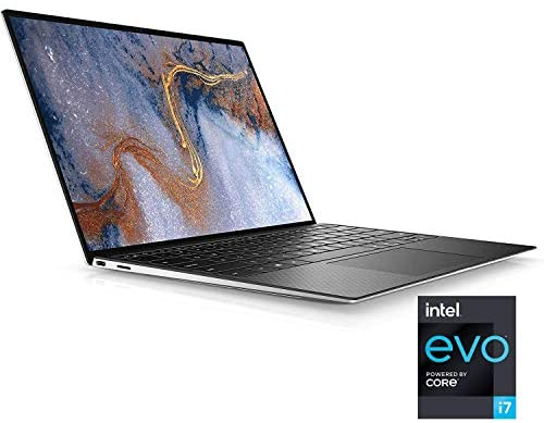 Dell XPS 13 (9310), 13.4- inch FHD+ Contact Laptop computer - Intel Core i7-1185G7, 16GB LPDDR4x RAM, 512GB SSD, Iris Xe Graphics, Home windows 10 Professional - Platinum Silver (Newest Mannequin) (Renewed) 2
